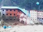 Броят на жертвите след наводненията в Китай нараства