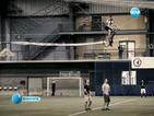 Вертолет, задвижван с педали, летя 64 секунди