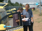 Внезапна проверка блокира такситата на Летище София