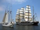 Исторически ветроходни кораби на регата в Германия