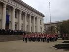 Президентът поздрави гвардейците с днешния празник
