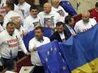 Украинската опозиция постави условия за преговори с управляващите