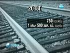 750 кражби на железопътна инфраструктура до края на ноември