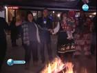 Кукери и огньове гонят злите сили в пернишките села