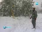 Какви трудности срещат екипите, докато отстраняват аварии в планината?