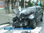Две коли пламнаха в Гоце Делчев
