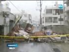 Тайфунът Неогури взе две жертви в Япония