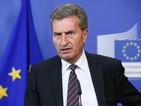 Йотингер подкрепи енергийния борд на среща със служебни министри