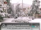 В Дакота заваля септемврийски сняг