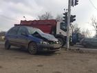 Серия от тежки верижни катастрофи в София