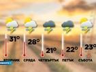 Капризите на времето през юни