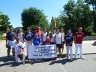 Бейзболистите протестираха срещу затварянето на стадиона им