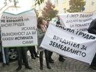 Фермери излязоха на протест срещу заместник-министър (ОБЗОР)