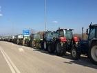 Гръцките фермери протестират близо до границата с България
