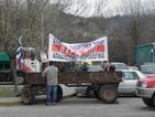 Стотици българи заложници на поредната гръцка блокада