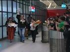 Посрещнаха Радослав Янков на летището като истински шампион
