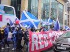 Стотици шестваха в подкрепа на независимостта на Шотландия (ВИДЕО)
