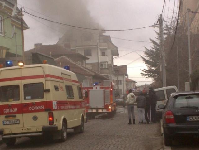 Пожар в кв. Редута