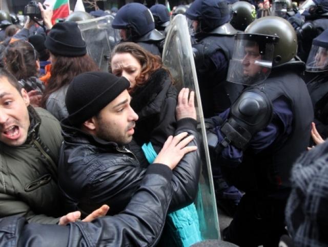 Протести заляха цялата страна. Снимка: БГНЕС