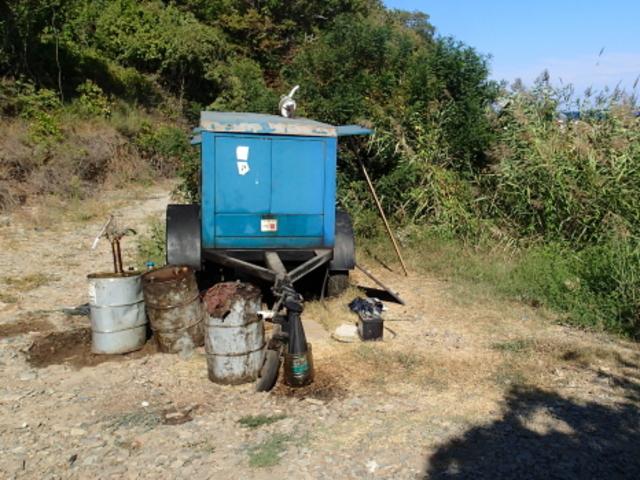 Замърсяване с гориво на устието на река Силистар