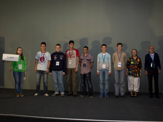 Националният отбор по астрономия и тази година с медали