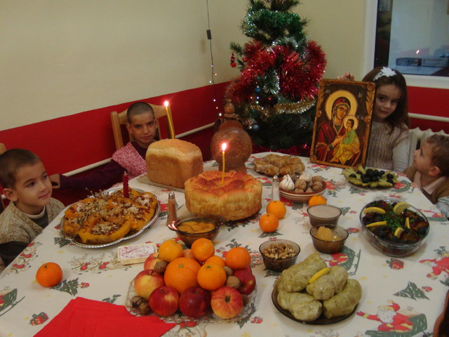 Коледни празници в малък групов дом