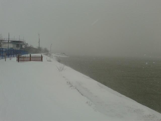 Зимата в Силистра