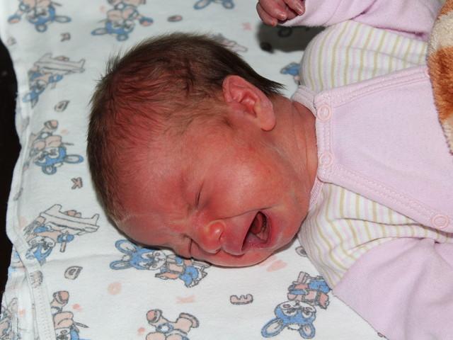 """Малката Сиана, която стана """"Бебе на годината"""" за 2014-а. Снимка: БГНЕС"""