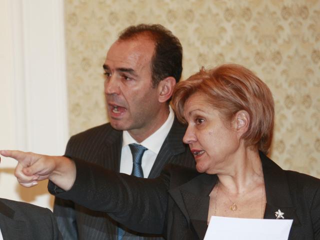 Менда Стоянова и Иван Искров. Снимка: Архив БГНЕС
