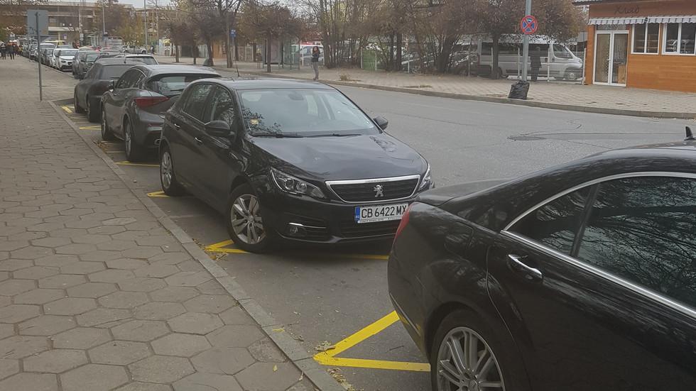 """Новите """"стоянки"""" на такситата в Пловдив"""