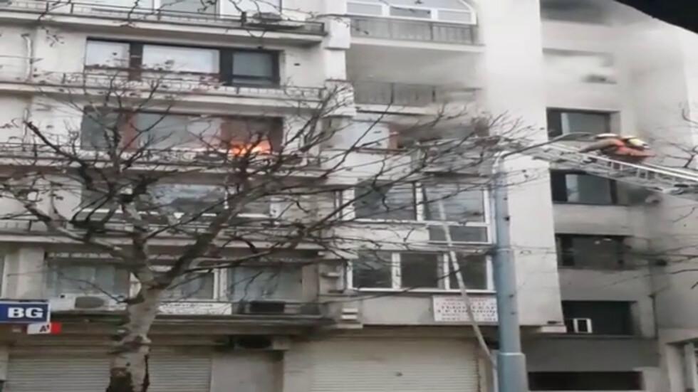 Пожар в Пловдив
