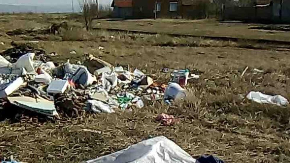 Изхвърляме боклука, където ни е удобно!