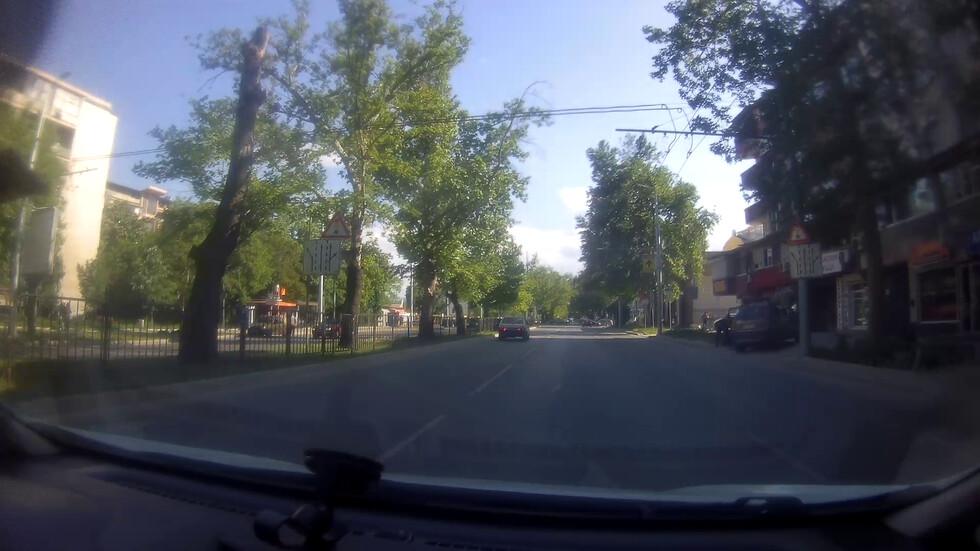 Безумни шофьори в Пловдив