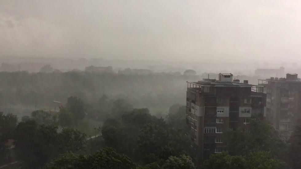 Буря в гр. Русе