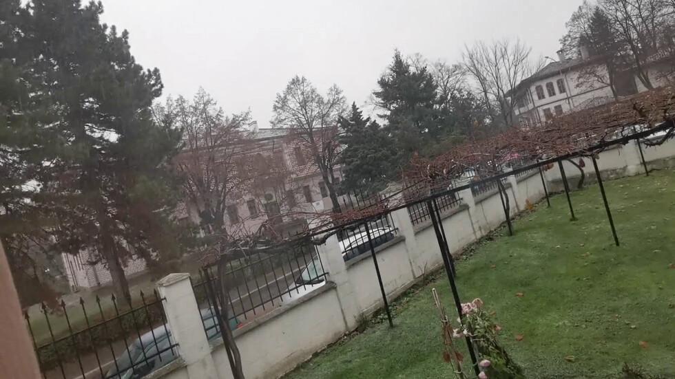 Първият сняг в Търговище