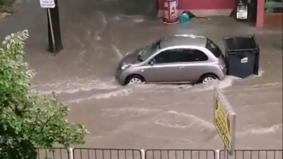 Вместо булевард, река