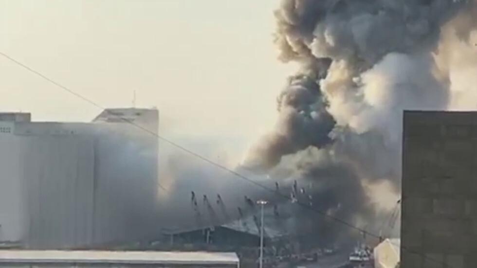 Взрив в Бейрут