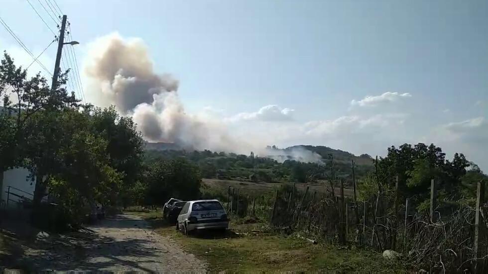 Пожар в село Славейково, Община Провадия