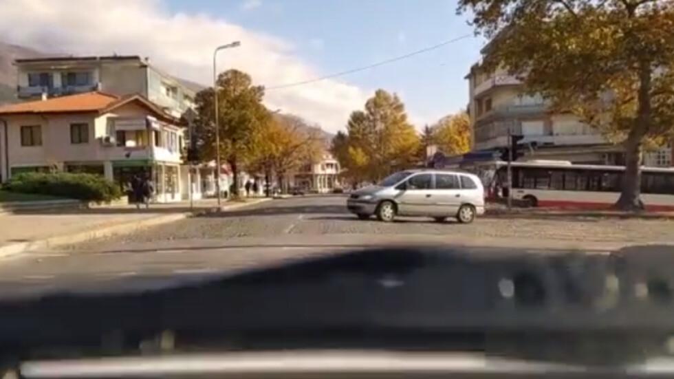 "Нагло не спиране на знак ""Стоп"" при неработещ светофар"