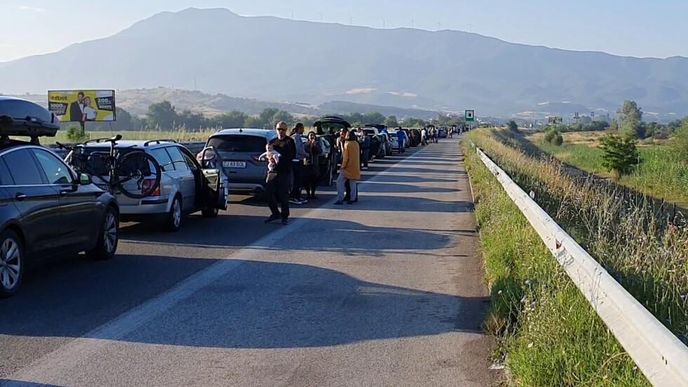 Отново опашки на границата с Гърция
