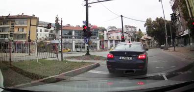 Преминаване на червен светофар