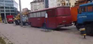 Замърсяване на въздуха от камиони на Столичен електротранспорт