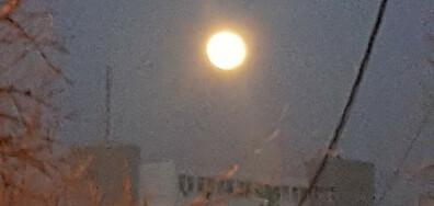 Ярка Луна над Хасково