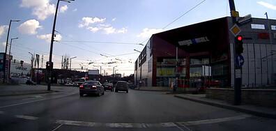 Минаване на червен светофар