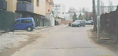 Разбит квартал