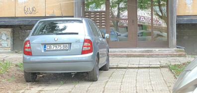 Неправилно паркиране в столицата