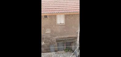 Град вали в Ямбол