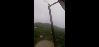 Пороен дъжд заля Провадия и околността