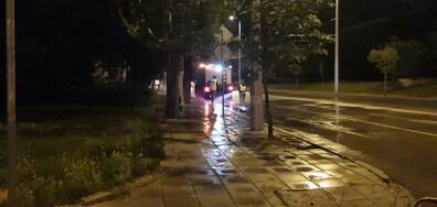 """""""Измиване"""" на столичен булевард"""