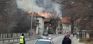 Пожарът в Кресна